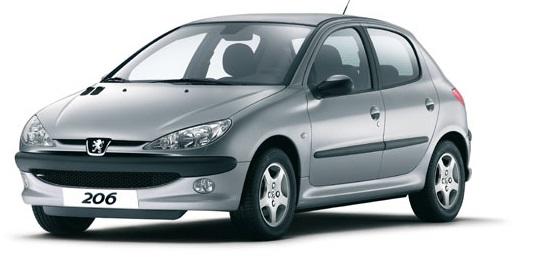 خانواده خودروهای پژو ۲۰۶ و ۲۰۶ اس دی